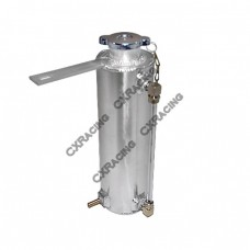 Aluminum  Overflow Coolant Reservoir Tank For Honda Civic Integra