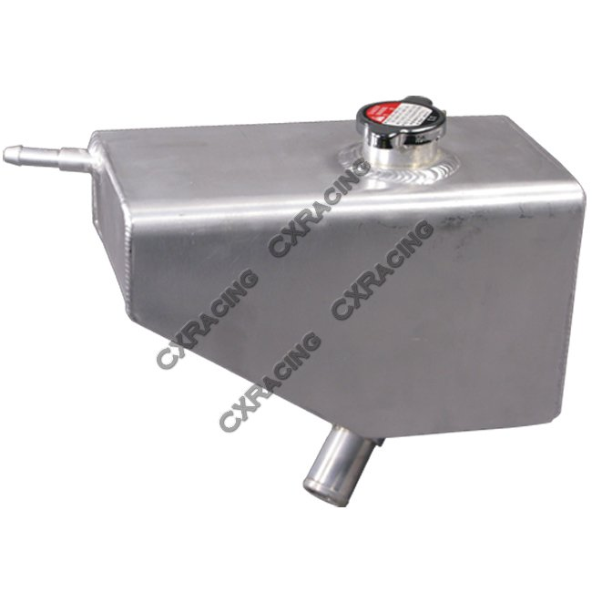 aluminum coolant overflow fill tank for 05  mustangs