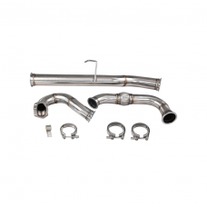 Stainless Turbo Downpipe For Land Rover Defender Stock 2.5L Diesel