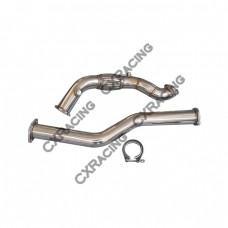 Turbo Downpipe For 98-05 Lexus IS300 With 2JZGE 2JZ 2JZ-GE NA-T 2pcs