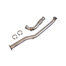 "3"" Single Turbo Exhaust Downpipe For 98-05 IS300 2JZ-GTE 2JZGTE Swap"