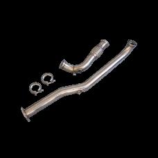 "3"" Single Turbo Exhaust Downpipe For 98-05 IS300 2JZ-GTE 2JZGTE Swap"