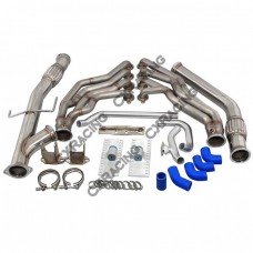 LS1 Engine T56 Mounts Headers Exhaust Y Rad Pipe for Toyota Tacoma Truck
