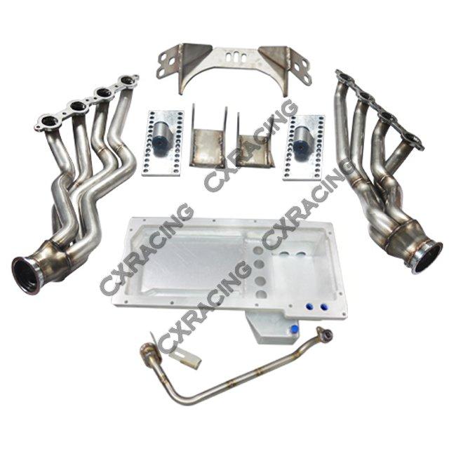 Ls1 Engine T56 Transmission Sale: LS1 LSx Motor T56 Transmission Mount Kit Oil Pan Header