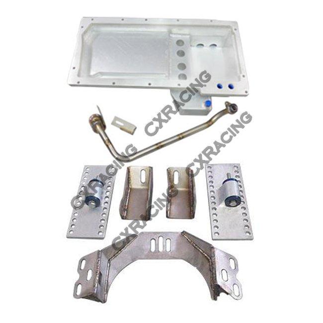 ls1 lsx motor t56 transmission mount kit oil pan for 300zx