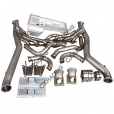 LS1 Engine Mount Kit Manifold Header Downpipe Oil Pan For Chevrolet Chevelle