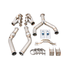 LS1 Engine T56 Trans Mount Headers Kit for Lexus SC300  LS LSx