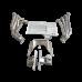 LS1 Engine Transmission Mounts Kit Header Oil Pan For BMW E46 LS LSx T56 Swap