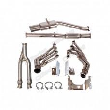 LS1 LS Engine T56 Transmission Mount Header Y Pipe Catback For BMW E36
