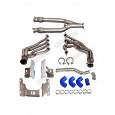 LS1 T56 Engine Transmission Mounts Headers Exhaust Radiator Pipe For BMW E36 LS Swap