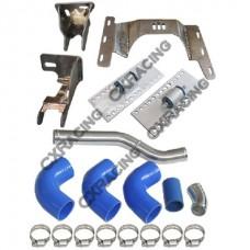 LS1 Engine T56 Transmission Mount Swap Radiator Piping Kit For 91-99 BMW E36 LSx