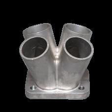 "Cast Steel 4-1 Header Manifold Merge Collector T25 T28 42mm 1.65"""