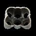 "11 Gauge 6-1 Header Manifold Merge Collector T4 48mm 1.9"" SS 304"
