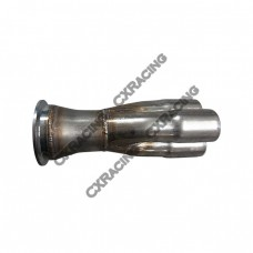 "3-1 Exhaust Header Manifold Tube Merge Collector 3.0"" V-Band"