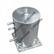 "5"" Round x 7"" H Universal Aluminum Fuel Surge Tank"