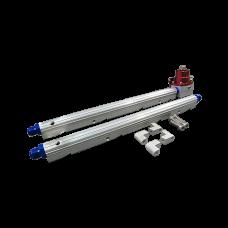 Billet Aluminum FuelRail Fitting AN6 + Fuel Regulator For GM LS1 LS2 LS6 LS7