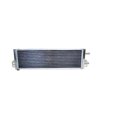 """Aluminum Heat Exchanger For Air to Water Intercooler Applications, Core: 21""""x6""""x2.5"""""""