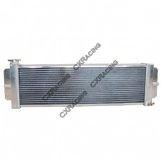 "Aluminum Heat Exchanger For Air to Water Intercooler Applications, Core: 24""x8""x2.5"""