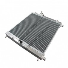 "Aluminum Heat Exchanger For Air to Water Intercooler Applications, Core: 14""x14""x1.65"""