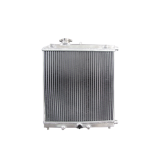 """Aluminum Heat Exchanger For Air to Water Intercooler Applications, Core: 14""""x14""""x1.65"""""""