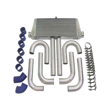 "31x12x3 inch Universal Intercooler + 3"" Piping Kit For LANCER"