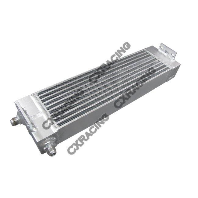 G35 Engine Oil Cooler : Aluminum universal oil cooler an for nissan