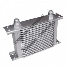 "Aluminum Oil Cooler 6.5"" Core 16 Row AN8 Fitting Hi Performance"
