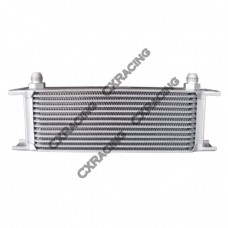 "Aluminum Oil Cooler 11"" Core 13 Row AN8 Fitting Hi Performance"