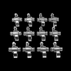 Roller Rocker Arm + Shaft for Porsche Air-Cooled Engines 2.7 3.0 3.2 12Pcs