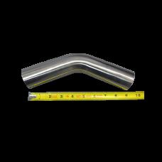 "1.75"" 45 degree 304 Stainless Steel Pipe Manifold Header Mandrel Bent"