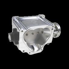 90mm Billet Throttle Body TPS Sensor For 90-99 Mazda Cosmo 20B REW Rotary