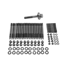 Head Stud Bolt Kit  + Crank Crankshaft Bolt for GM Chevy GEN IV LS9 LQ9 6.0L 6.2L Engine