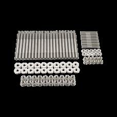 Titanium Head Stud Kit for GM Chevy GEN IV LS9 LQ9 6.0L 6.2L Engine