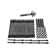 Head Stud Bolt Kit + Crank Crankshaft Bolt for GM Chevy LS/LM Engine LS1 LS3 5.3L 5.7L 04+