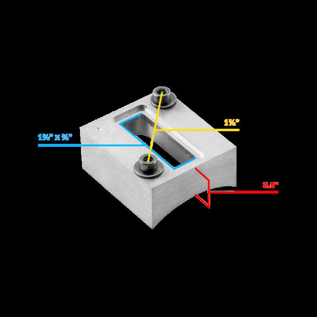 Carrfan MAF Sensor Bung Mass Air Flow Sensor Bung Billet Boss Mount Weld Flange MAF Replacement for LS Engines LSX LS3 LS7