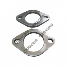 """Mild Steel 2-bolt Flange Adapter Two Pcs, 2.5"""" I.D."""