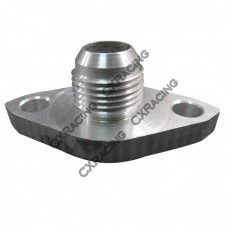 AN10 Aluminum Oil drain return Flange for Toyota Supra 1JZ-GTE 2JZ-GTE Single Turbo