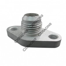 AN10 Aluminum Oil drain return Flange for Toyota Supra 7MGTE 7M-GTE Single Turbo