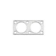 """Exhaust Downpipe Gasket for Mazda RX-7 RX7 13B Rotary Engine Dual 2"""" Holes"""