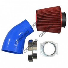 Intake Kit MAF Flange Pipe Air Filter For S13 S14 RB25DET RB20DET RB