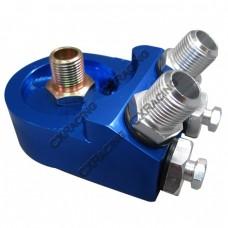 AN 8 Aluminum CNC Oil Cooler Filter Sandwich Adapter Plate