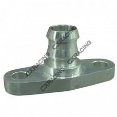 Turbo Oil Return Drain Flange , Billet Aluminum CNC Made, Fits Most Turbos