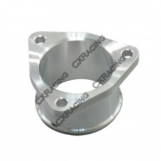 """CNC Billet Aluminum Outlet Flange/Adapter for GT25R GT28 GT28R turbo, 3 Bolt, 2"""" O.D"""