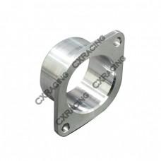 """CNC Billet Aluminum Inlet Flange/Adapter for GT25R GT28 GT28R turbo , 2 Bolt, 2.25"""" O.D"""