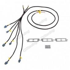 LQ9 LQ Coil Pack Aluminum Bracket Wire Harness For 2JZGTE 2JZ-GTE