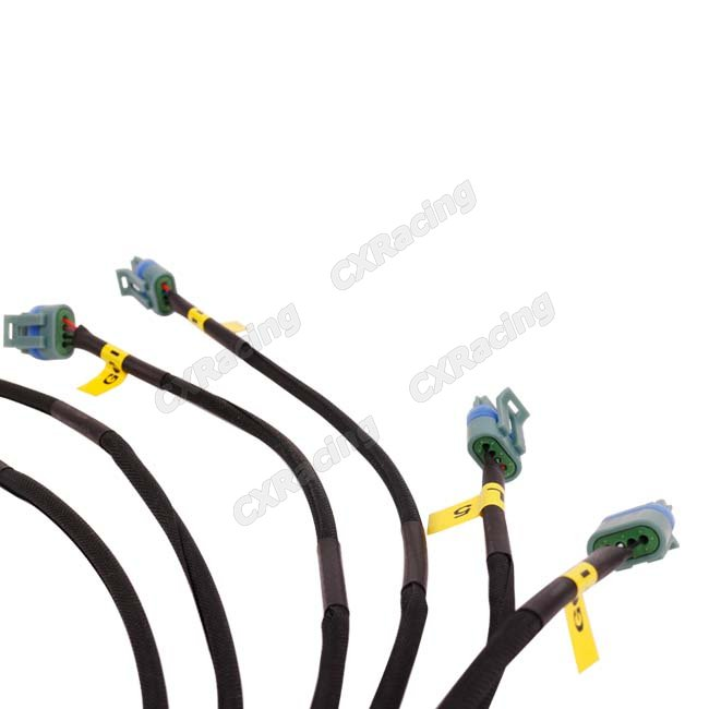 CXR WIRE 2JZ COIL LQ9 3 650x650 harness for lq9 lq coil pack 2jzgte 2jz gte engine lq9 wiring harness at fashall.co