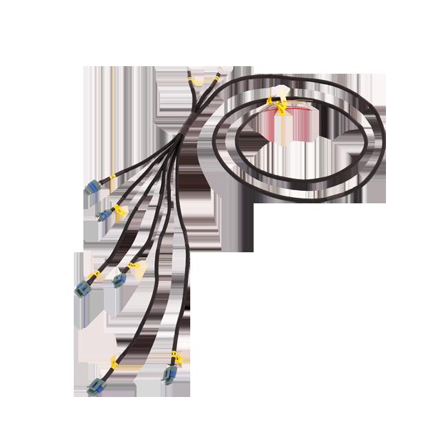 lq9 lq coil pack aluminum bracket wire harness for nissan rb26dett rb26