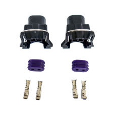Fuel Injector Connector Wiring Plug Terminal for Bosch EV1 Female LS1 LSx 2pc