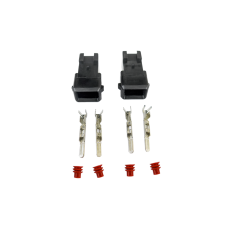 Fuel Injector Connector Wiring Plug Terminal for Bosch EV1 Male LS1 LSx 2pcs