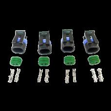 Coolant Temp Temperature Sensor Connector Terminal for LS1 LSx Engine 4pc